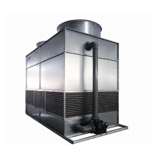 Stainless steel Copper Coil With Fills Counter flow Cooling Tower