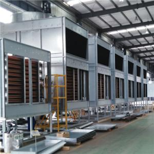 Stainless Steel Coil With Fills Cross flow Cooling Towers