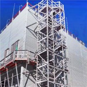 Counter flow Plume Abatement And Water saving Steel Structure Cooling Tower