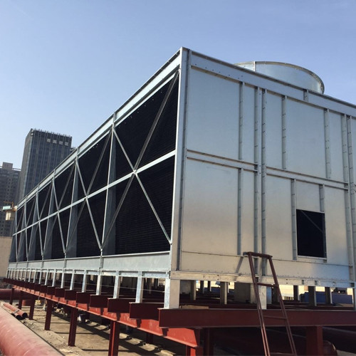 All steel Double side Air Inlet Top Discharge Cross Flow Cooling Tower