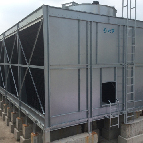 Stainless steel Double side Air Inlet Top Discharge Cross Flow Cooling Tower