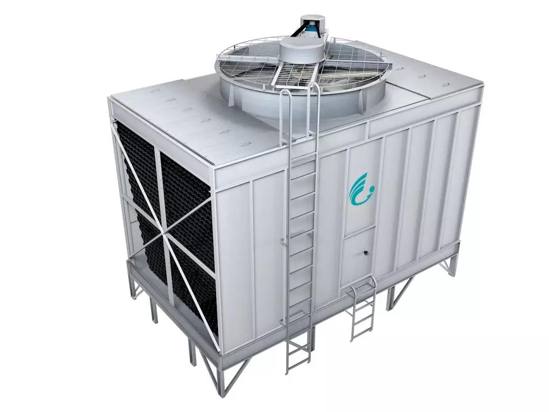 cross flow all stainless steel cooling tower