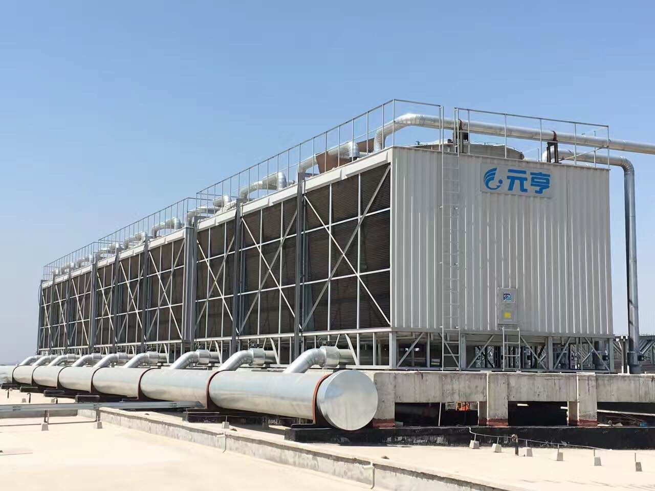 open cooling tower
