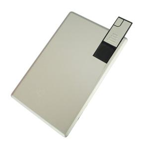 Carte Aluminium USB Flash