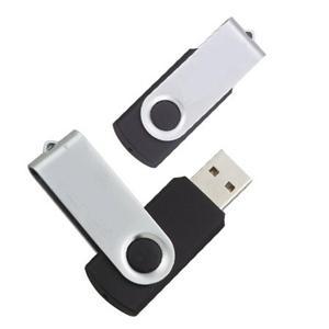 Clé USB en plastique coloré twister