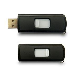 Glisser la clé USB