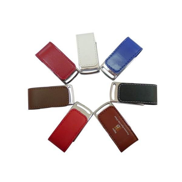Leather 16GB USB Flash Drives