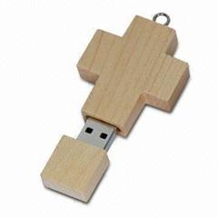 Croix en bois Clés USB