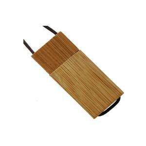 Clés USB en bois avec cordon