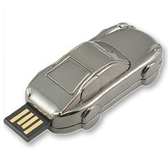 Mémoire flash USB en forme de voiture