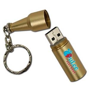 Clé USB en forme de bouteille de bière