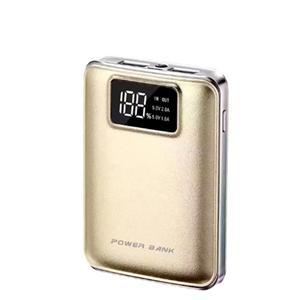 Chargeur d'alimentation mobile à 2 banques USB, 7800 mAh