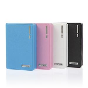 Banque de puissance de portefeuille double sortie USB 10400mah
