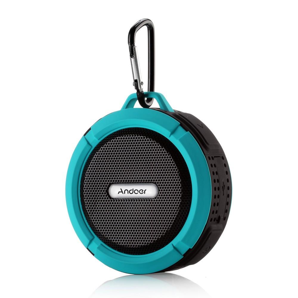 Haut-parleurs stéréo sans fil étanches portables C6