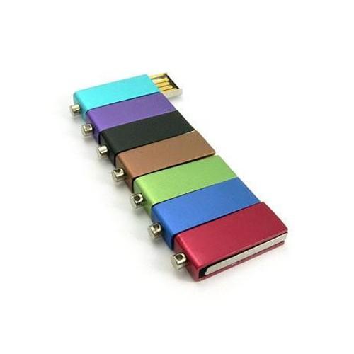 Mini Metal Swivel USB Flash Drive