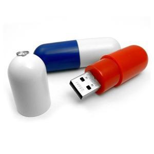 Clé USB en forme de pilule pour cadeau médical