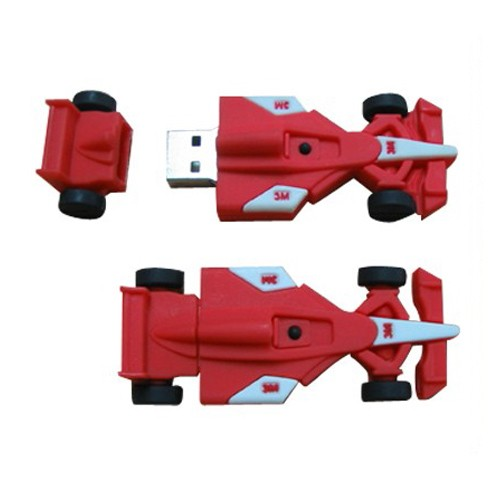 Racing car USB flash disk
