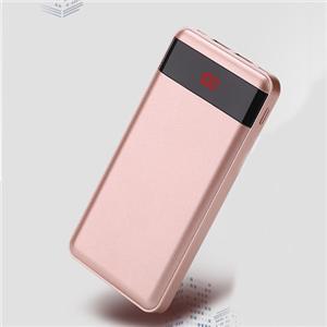 Banque mobile 10000mAh de puissance portative avec la double sortie d'Usb