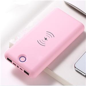20000mah Type C Wireless Power Charger With 18650 Battery