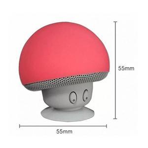 Haut-parleur Bluetooth sans fil portable avec mini champignon