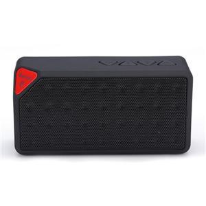 X3 Haut-parleur Bluetooth stéréo sans fil portable Boombox