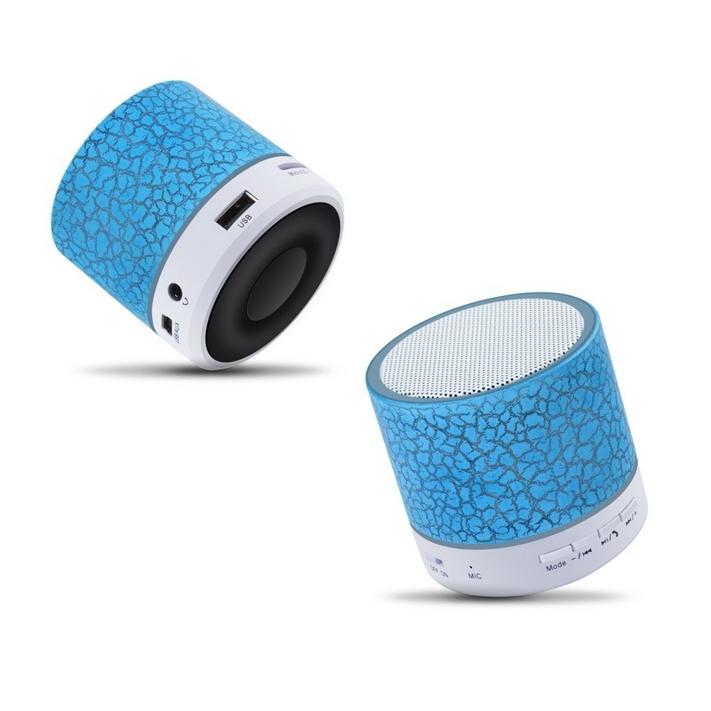 wireless portable Sound Box Subwoofer Speaker with Mic Colorful LED Light