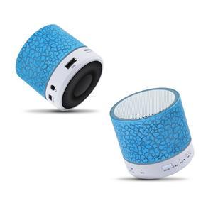 haut-parleur portatif sans fil subwoofer de caisse de résonance avec la lumière colorée de Mic de LED