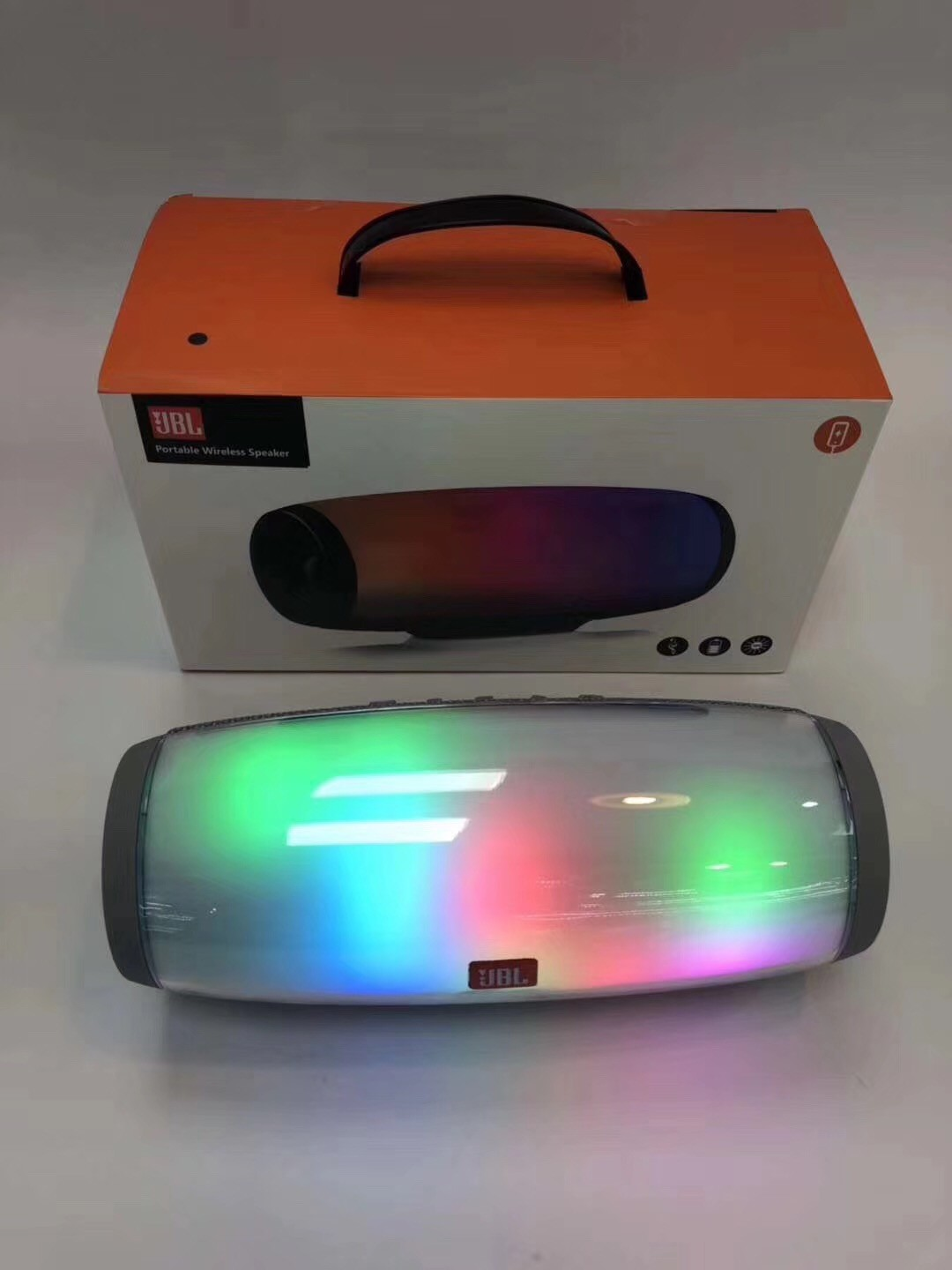 Hot and new Bluetooth Speaker With colorful LED Light