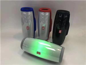 Bluetooth Subwoofer Speaker With colorful LED Light-enjoy music everywhere