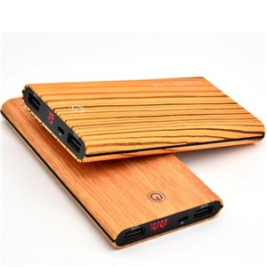 Wooden power bank 10000mah, Mobile power supply, Mobile phone power charger