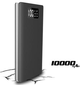 New Product 2019 Small Portable LCD Display 10000mah Power Bank With LED light mini mobile accessories portable charger