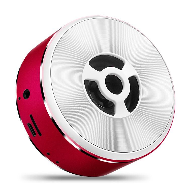 Wireless FM Speaker Portable Small Steel Speaker TF Card USB Subwoofer Stereo Audio mini bluetooth speaker