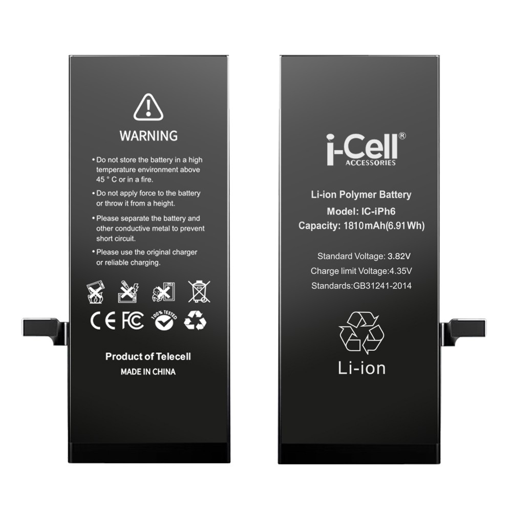 OEM smartphone replacement battery for iphone 6 cell phone
