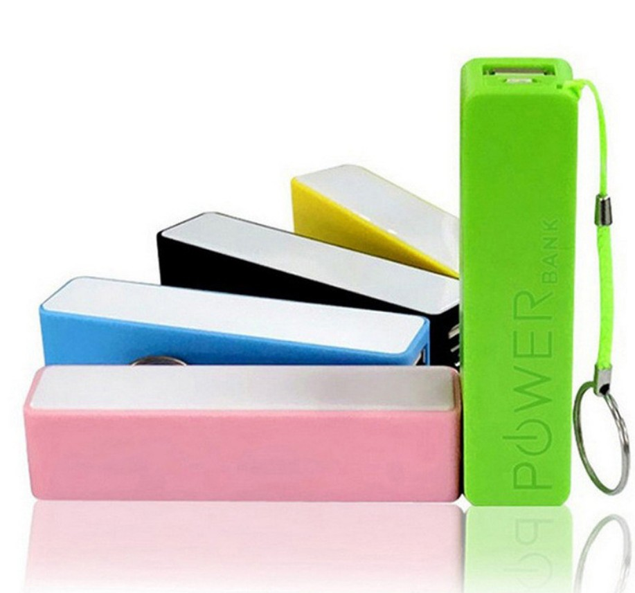 Cheap Promotional Gift Custom Keychain Print Brand Logo Power Bank