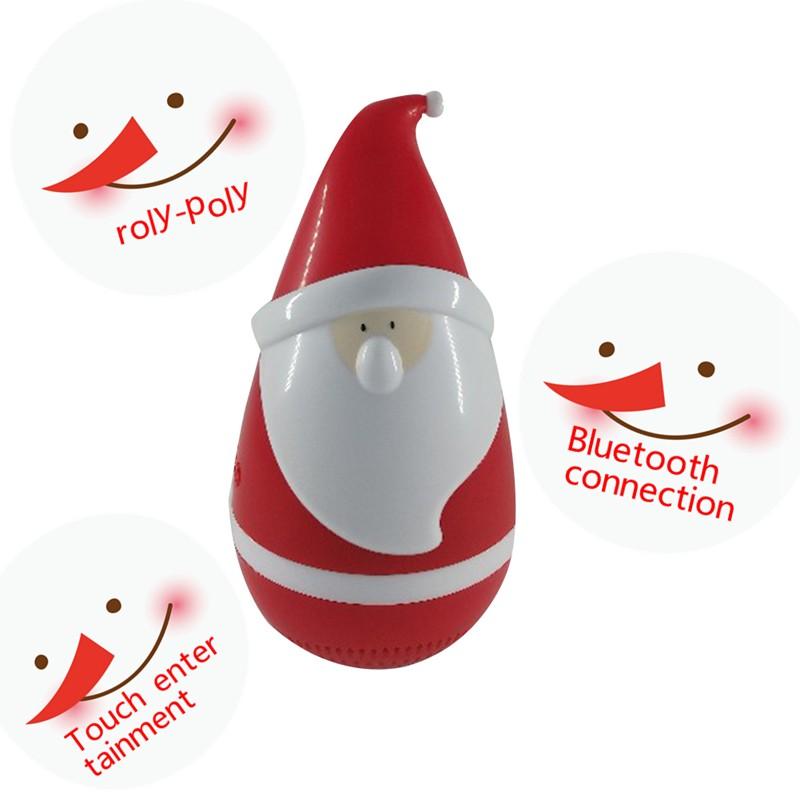 Christmas gift children gift cute speaker santa claus toys