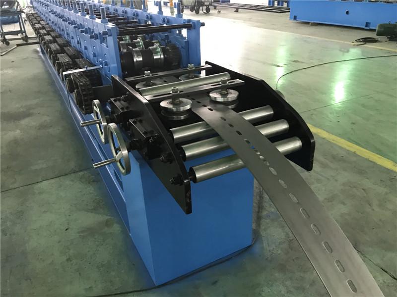 Chain Drive Guide Rail Roll Forming Machine