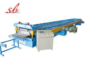 Galvanized Steel Floor Deck Cold Roll Forming Machine