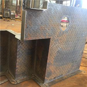 Steel Structure For Marine Engine