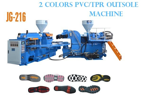 Two Colors TPR Sole Injection Molding Machine