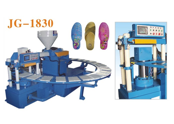 Single Color PVC Slipper Making Machine