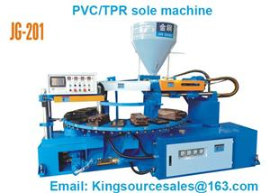 TPR Outsole Injection Molding Machine