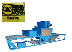 Paper/Textile Flocking Machine