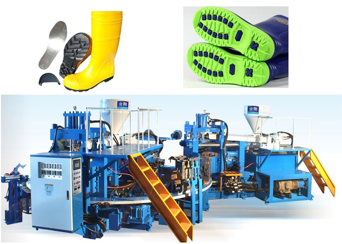 PVC Safety Boot Making Machine