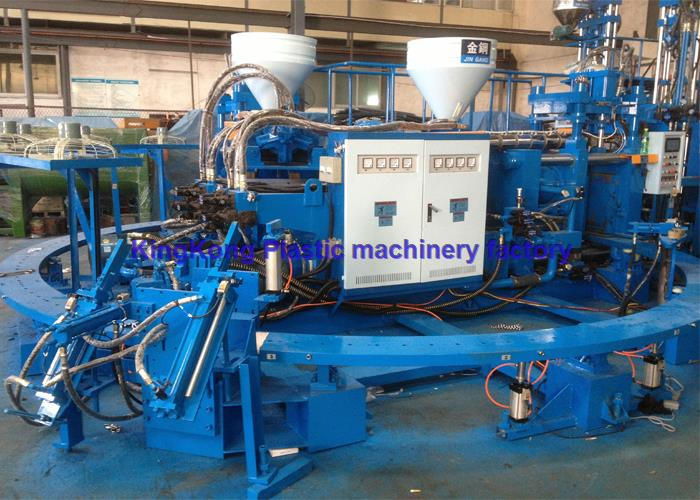 Vertical safety boot making machine