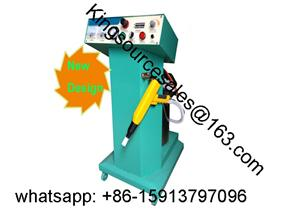 Jewelry box flocking machine
