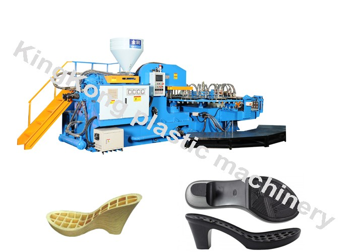 PVC High expanded Sole injection molding machine