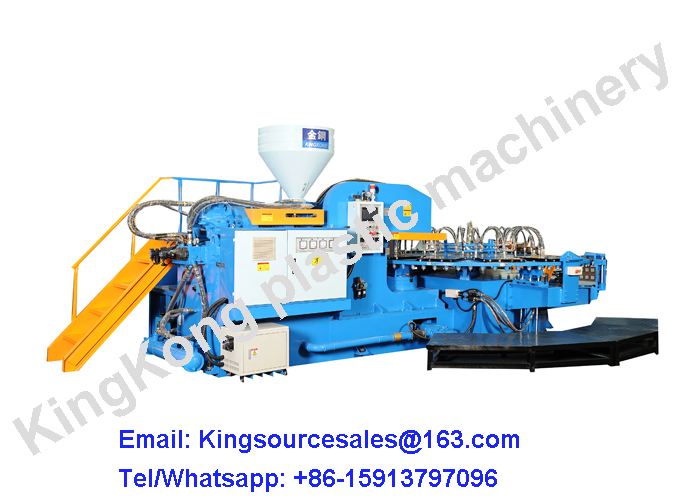 PVC high expanded sole machine