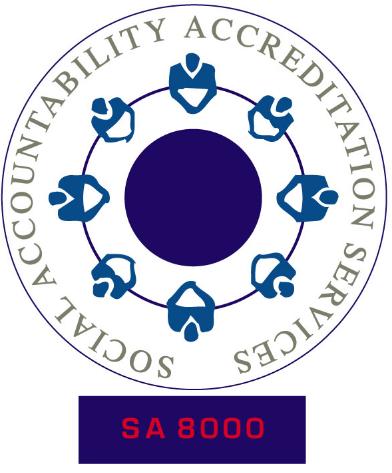 Responsabilité sociale - SA8000
