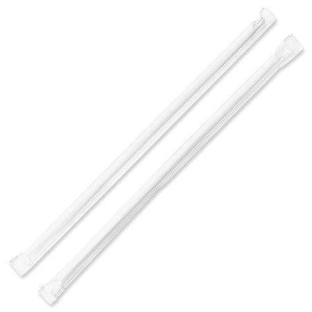 Pre-wrapped Straws