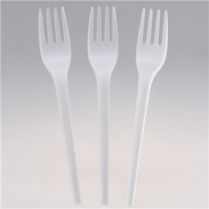 6.5 Inch Heavy Weight Compostable Fork